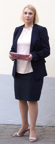 Portrait der Rechtsanwältin Alexandra Braun aus Hamburg
